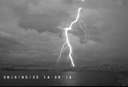 Lightning strike to BCI